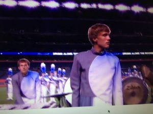 Nick Soden performs with the Blue Knights. (Credit: Billy Soden)